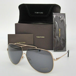 Tom Ford Chase-02 TF586 28A Shiny Rose Gold / Grey